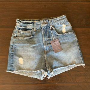 NWT LF High Waist Denim Shorts